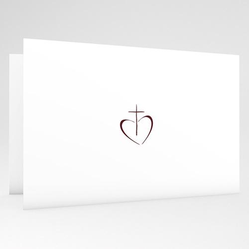 Einladungskarten Konfirmation Fotoreihe - mit Farbvarianten gratuit