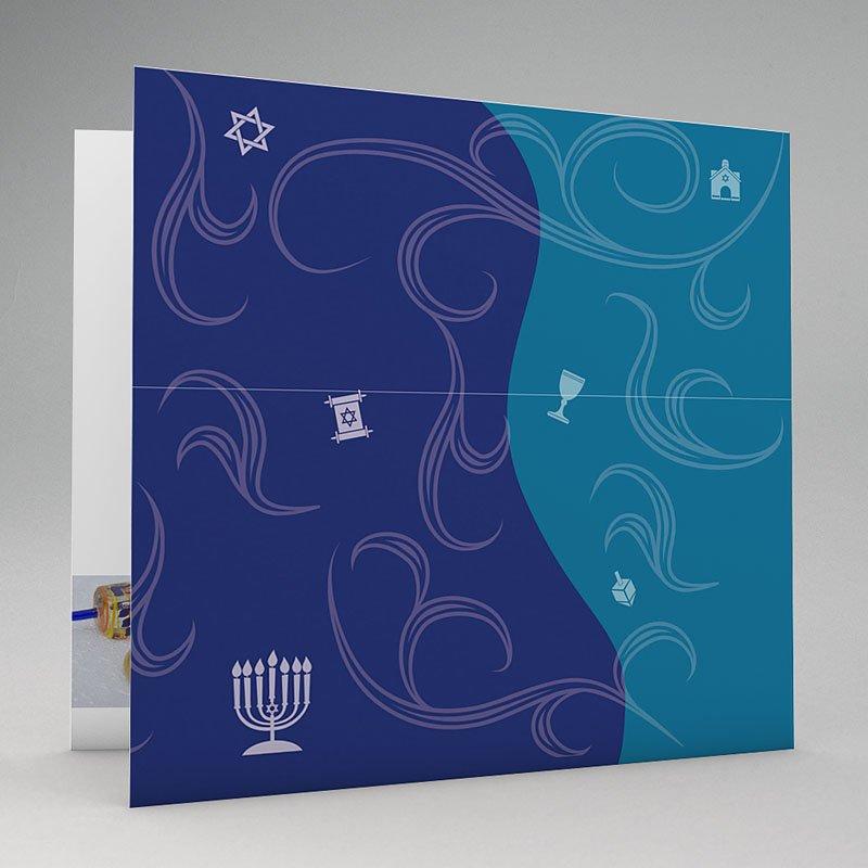 Bar Mitzwah Einladung - Hebräisch 18875 thumb
