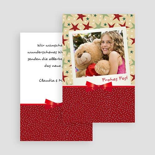Weihnachtskarten - Dekoration 18882 test