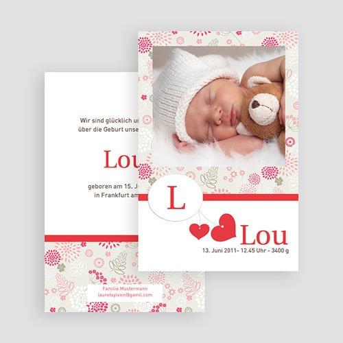 Geburtskarten für Mädchen - Lou 18913 thumb