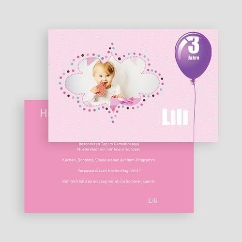 Einladungskarten Geburtstag Jungen Wolkenform gratuit