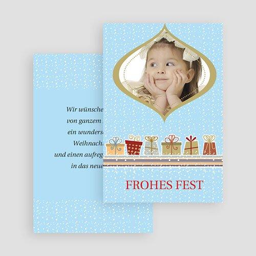 Weihnachtskarten - Festtage 18981 test