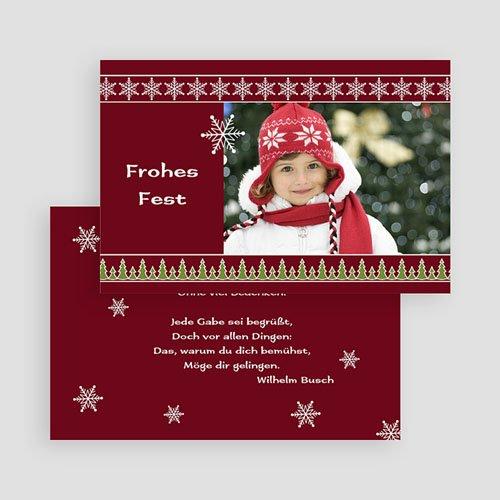 Weihnachtskarten - Weihnachtlich 19020 test