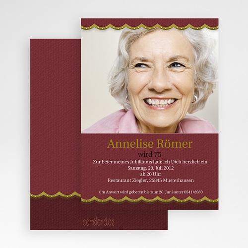 Erwachsener Einladungskarten Geburtstag Glanzvoll gratuit