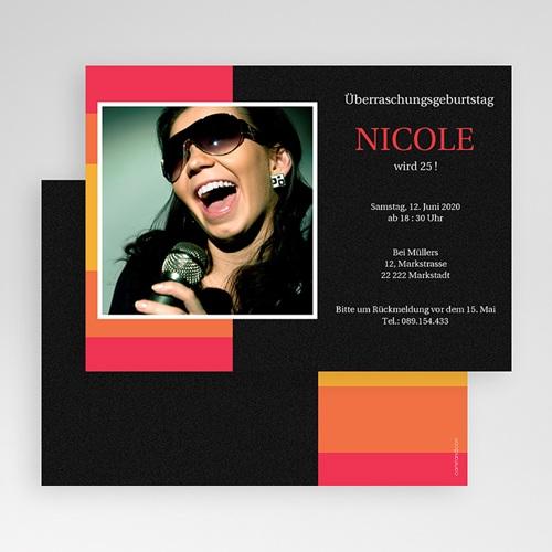 Erwachsener Einladungskarten Geburtstag Nicole gratuit