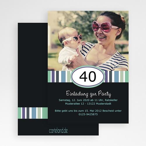Erwachsener Einladungskarten Geburtstag Wiegenfest gratuit