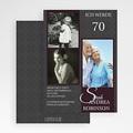 Erwachsener Einladungskarten Geburtstag Florales Design gratuit