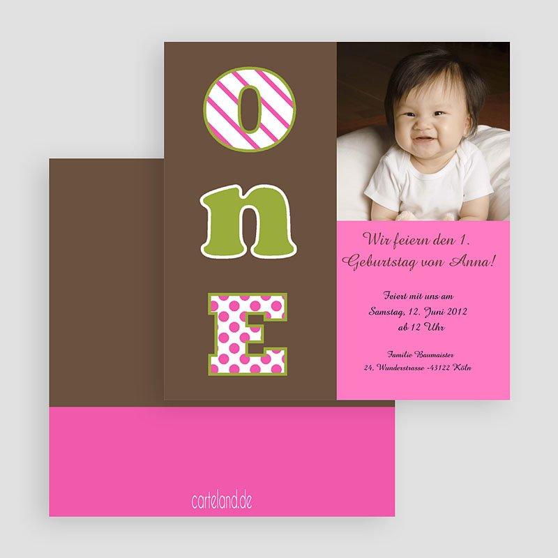 Einladungskarten Geburtstag Mädchen Moi gratuit