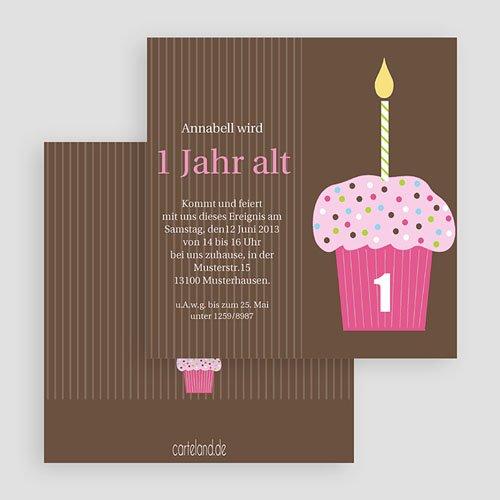 Geburtstagseinladungen Jungen - Cupcake sweet 19323 test