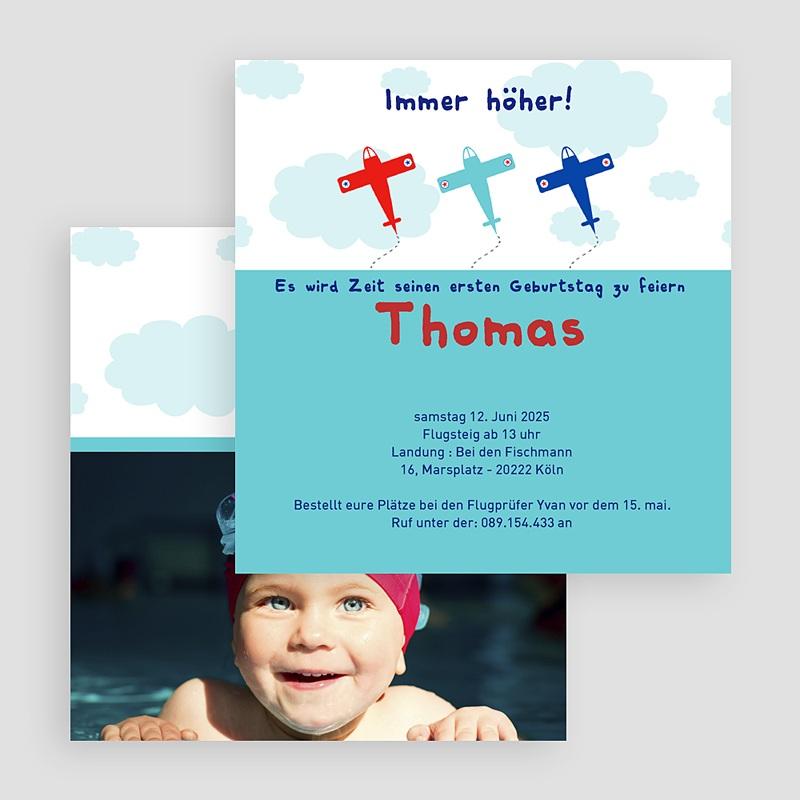 Geburtstagseinladungen Jungen - Kindergeburtstag 19324 thumb