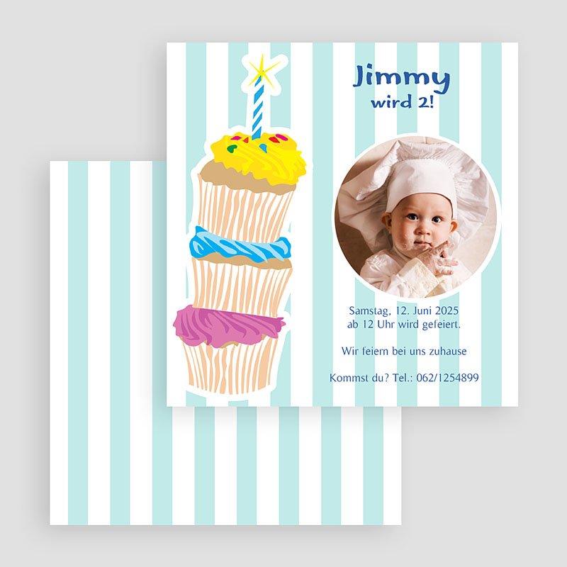 Geburtstagseinladungen Jungen Kuchenbäckerei gratuit