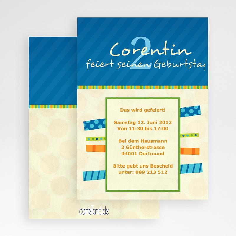 Einladungskarten Geburtstag Jungen Felix gratuit