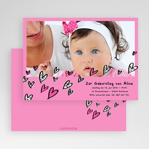 Einladungskarten Geburtstag Mädchen Chloe gratuit
