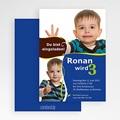 Einladungskarten Geburtstag Jungen Ronan gratuit