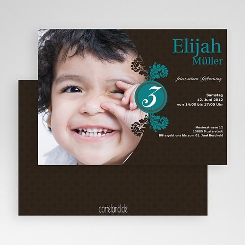 Geburtstagseinladungen Jungen - Elias 19422 test
