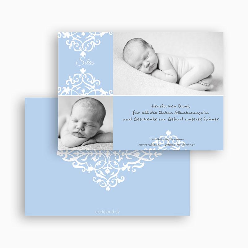 Dankeskarten Geburt Jungen - George 19446 thumb