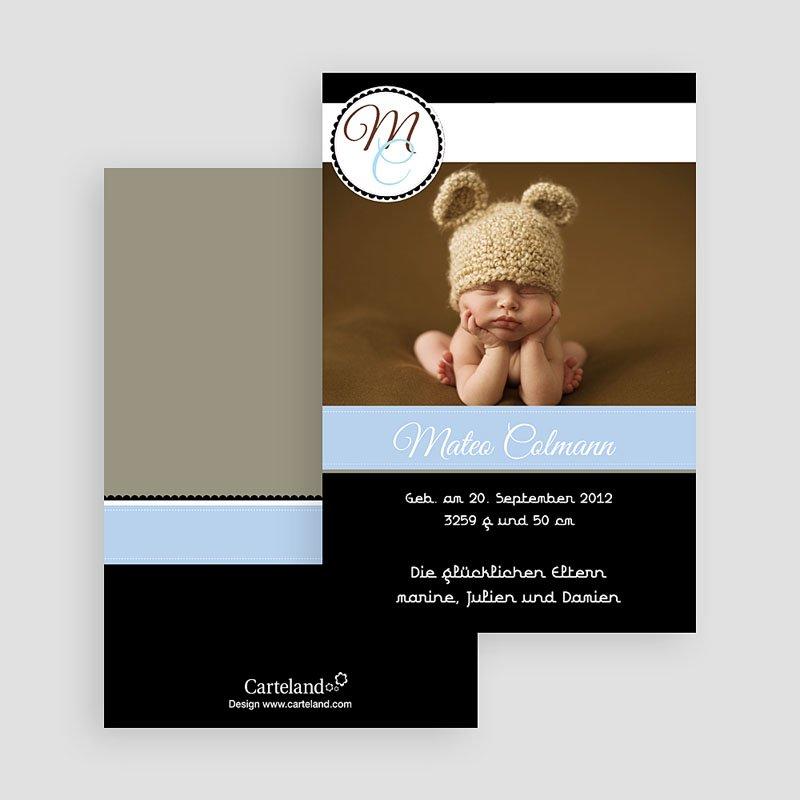 Geburtskarten für Mädchen Finn Luca gratuit