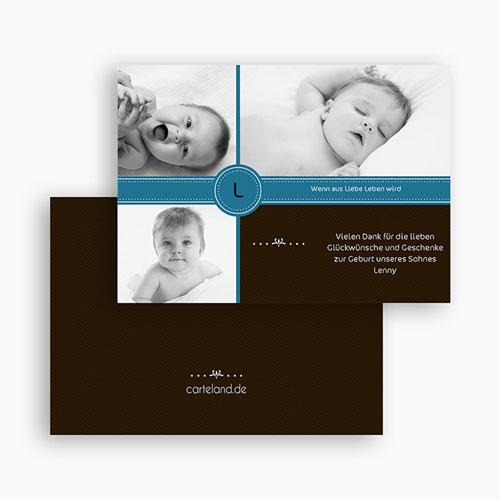 Dankeskarten Geburt Jungen - Alexis 19478 preview
