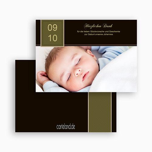 Dankeskarten Geburt Jungen - Max 19482 test