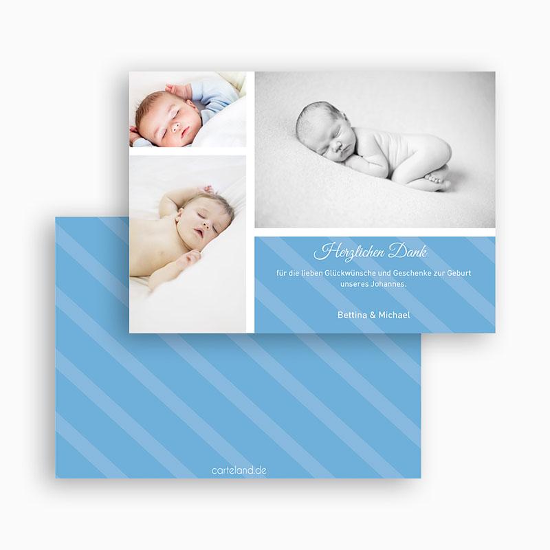 Dankeskarten Geburt Jungen - Sepp 19490 thumb