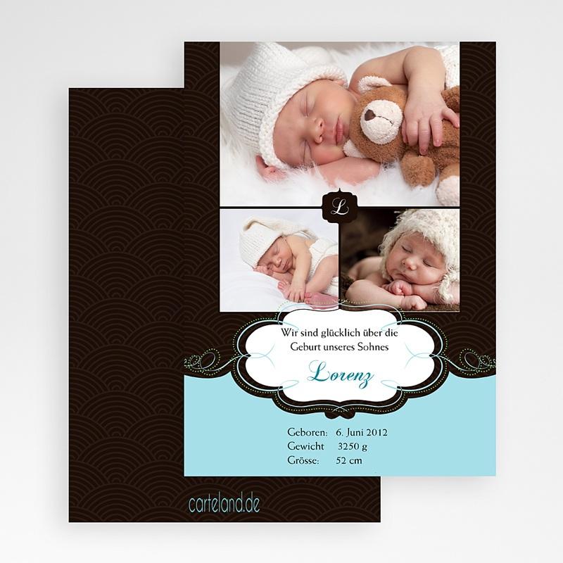 Geburtskarten für Jungen Agnus gratuit