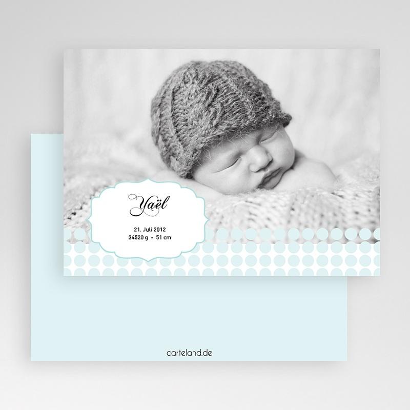Geburtskarten für Jungen Baby Oskar  gratuit