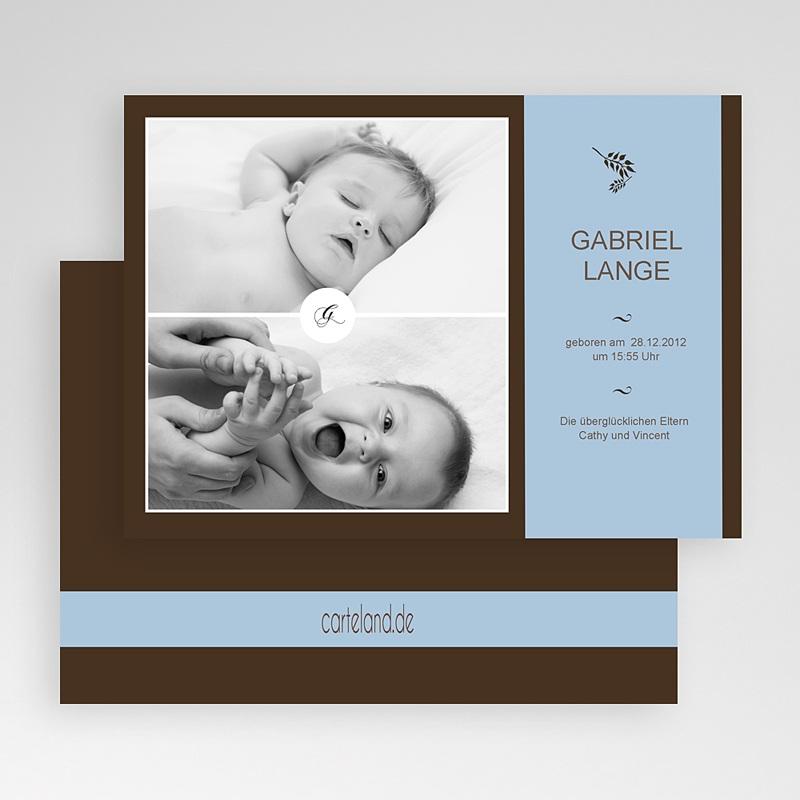 Geburtskarten für Junge Gaston gratuit