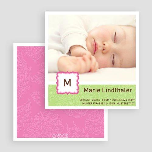 Geburtskarten für Mädchen - Lilly 19524 test