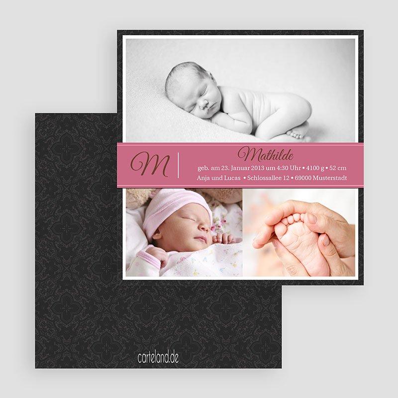 Geburtskarten für Mädchen Mia gratuit