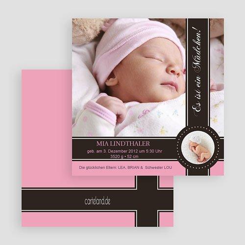Geburtskarten für Mädchen - Lovely Princess Pink 19548 test