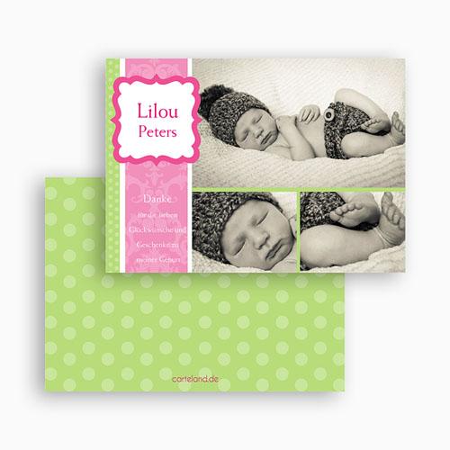 Dankeskarten Geburt Mädchen - Martha 19551 preview