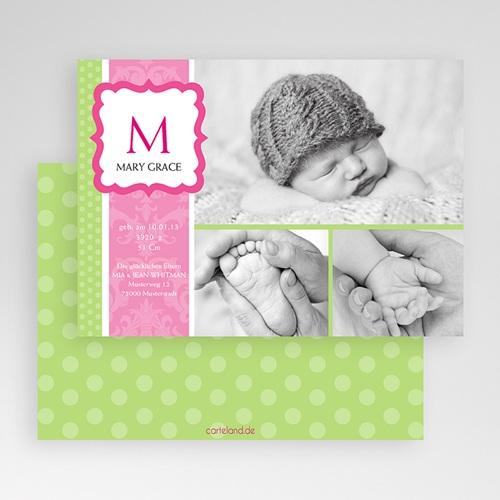 Geburtskarten für Mädchen - Saphira 19552 test
