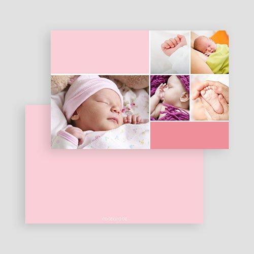 Geburtskarten für Mädchen - Rosatöne 19589 preview