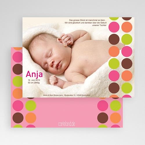 Geburtskarte Kreis - 3 test