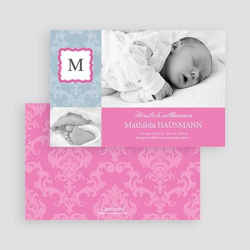 Geburtskarten für Mädchen - Mohn 19597 preview