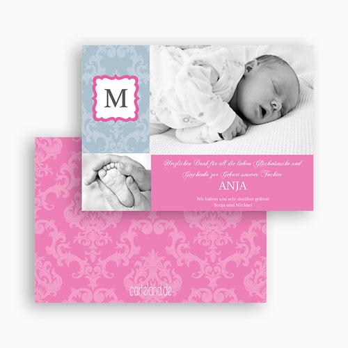 Dankeskarten Geburt Mädchen - Paulina 19598 test
