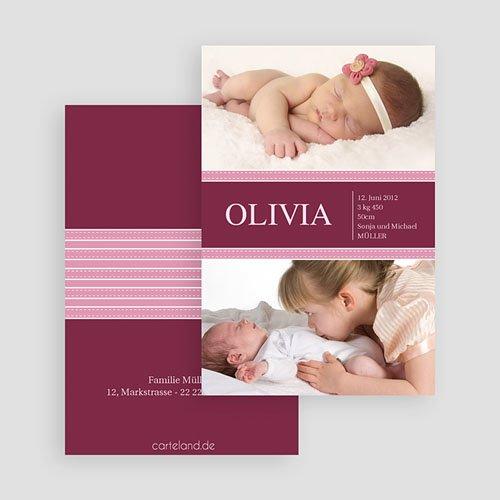 Geburtskarten für Mädchen - Olive 19641 preview