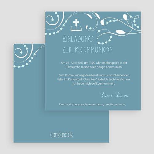 Einladungskarten Kommunion Mädchen - Erstkommunion 19684 preview
