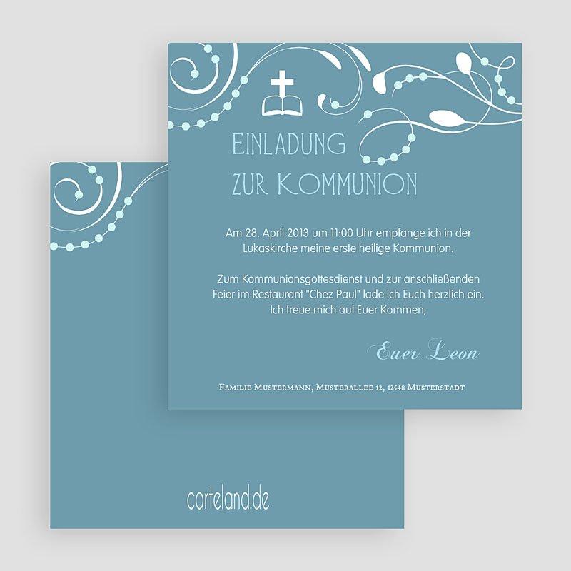 Einladungskarte Kommunion - Designideen
