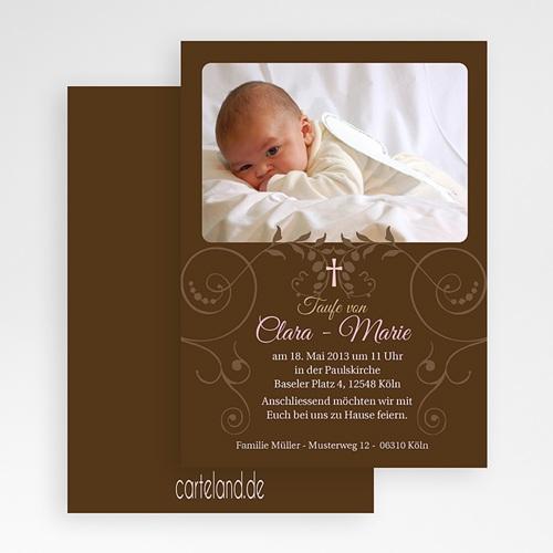 Einladungskarten Taufe Mädchen - Mariane 19697 test