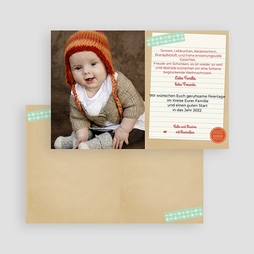 Weihnachtskarten Nussknacker gratuit