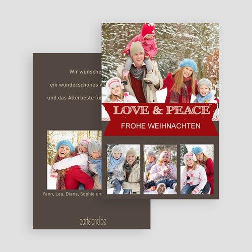 Weihnachtskarten - Festessen 19866 test