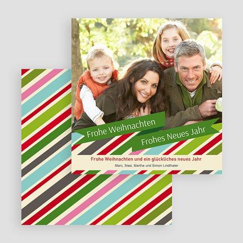 Weihnachtskarten Pastell gratuit