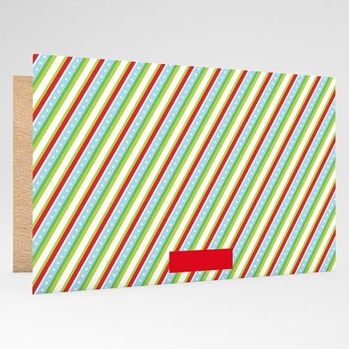Weihnachtskarten - Gestreift 19907 preview