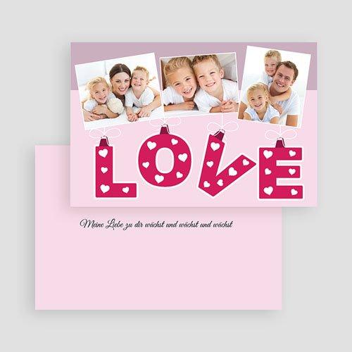 Karten zum Valentinstag - Love 19974 preview