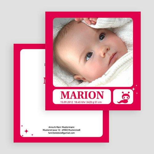 Geburtskarten für Mädchen - Yolanda 20022 test