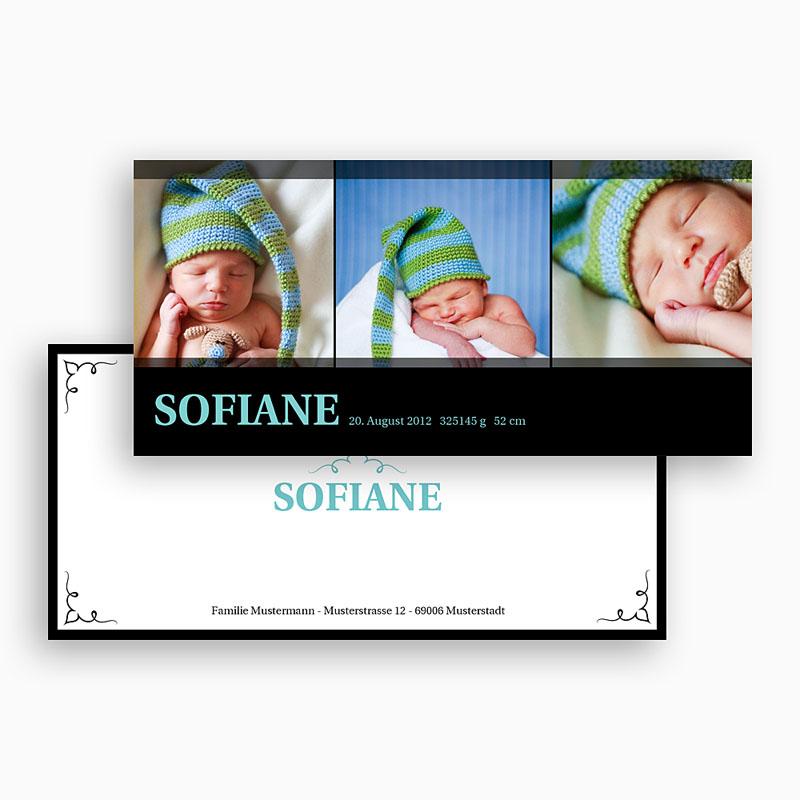 Geburtskarten für Mädchen - Laura 20068 thumb