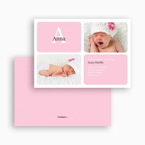 Geburtskarten für Mädchen - Julia 20116 test