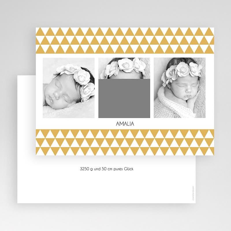Geburtskarten für Mädchen Retro gratuit