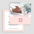 Einladungskarten Taufe für Mädchen Taufe gratuit